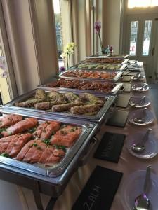 hoofdgerechten buffet