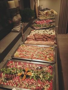 voorgerechten buffet